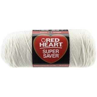 Red Heart Super Saver YarnSoft White