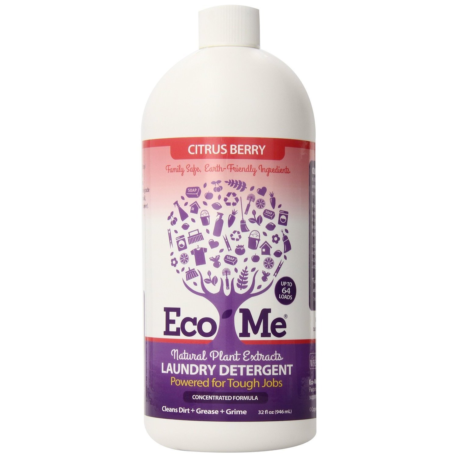 KITTRICH CORP. Eco-Me All Natural 32 ounce Laundry Deterg...