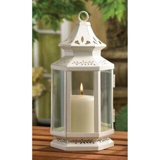 Zingz & Thingz White Victorian Lantern