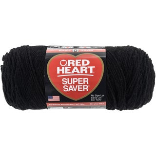 Red Heart Super Saver YarnBlack