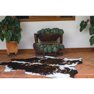 Natural Cowhide Rug (6' x 7')