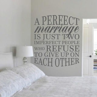 A Perfect Marriage Wall Decal (42 Part 94