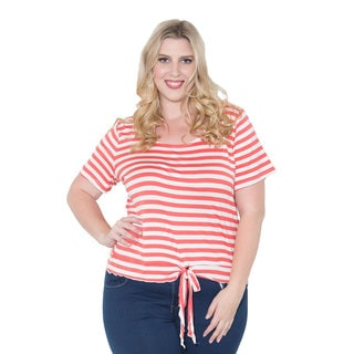 Sealed with a Kiss Women's Plus Size 'Annie' Top