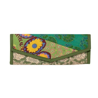 Recycled Rag Patchwork Clutch (India)