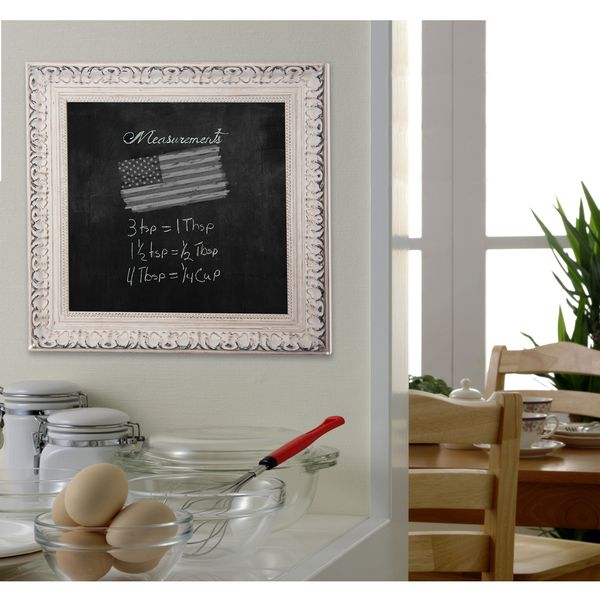 American Made Rayne French Victorian White Blackboard/Chalkboard