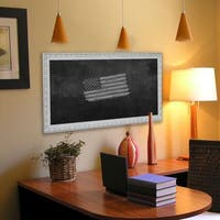 American Made Rayne French Victorian White Blackboard/Chalkboard