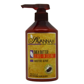Savannah Hair Therapy Shea Butter 16.9-ounce Leave-in Cream