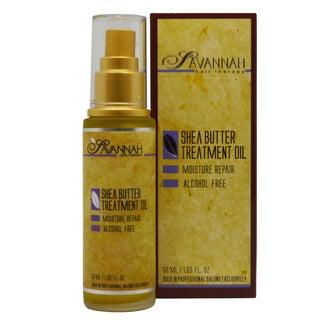 Savannah Hair Therapy Shea Butter 1.69-ounce Treatment Oil