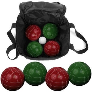 Trademark Games 9 Piece Bocce Ball Set with Easy Carry Nylon