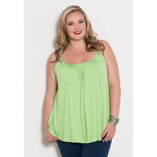 Sealed with a Kiss Women's Plus Size Pretty Cami|https://ak1.ostkcdn.com/images/products/10626617/P17696174.jpg?impolicy=medium