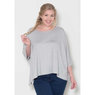 Sealed with a Kiss Women's Plus Size 'Christina' Doleman Top