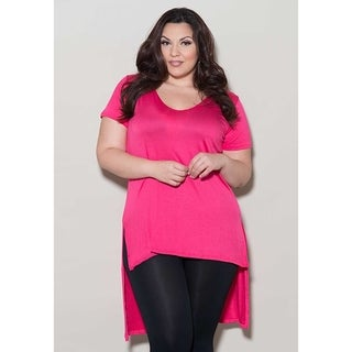 Sealed with a Kiss Women's Plus Size 'Sue' Top