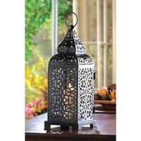 Zingz & Thingz 13-inch Moroccan Tower Candle Lantern