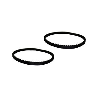 2pk Replacement Belts, Fits Miele Power Nozzle SEB 213, 217, & STB 205, Compatible with Part 4897760