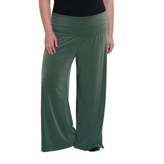 Sealed with a Kiss Women's Plus Size Perfect Palazzo Pants