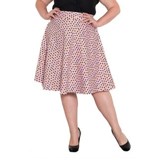 Sealed with a Kiss Women's Plus Size 'June' Skirt
