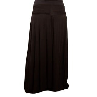 Sealed with a Kiss Women's Plus Size California Maxi Skirt