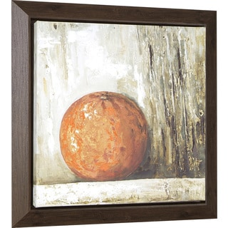 Hobbitholeco. 'Orange' 23 x 23-inch Oil Painting Wall Art