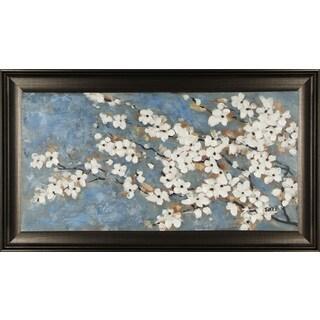 Spring Blossom I 22X38'' Framed Canvas Wall Art