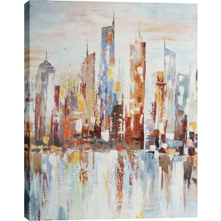 Hobbitholeco. 'Spectral City' 39.5 x 50-inch Oil Wall Art