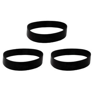 3 Oreck XL Upright Vacuum Belts/ Part #030-0604 and XL010-0604