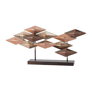 Sterling Heavy Metal Table Sculpture