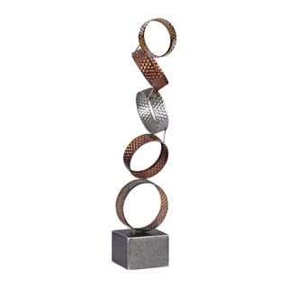 Sterling Heavy Metal Ring Sculpture