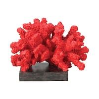 Sterling Fire Island Coral Display Statue
