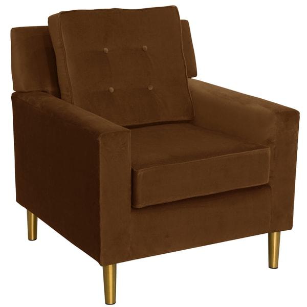 Skyline Furniture Regal Chocolate Arm Chair