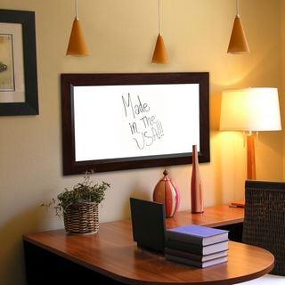 American Made Rayne Dark Walnut Whiteboard