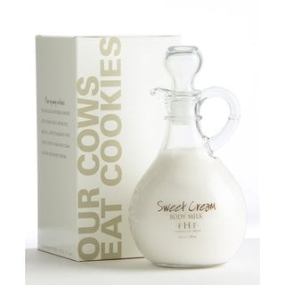 FarmHouse Fresh Sweet Cream Body Milk 10-ounce Cruet with Handle