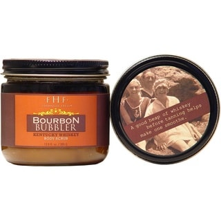 FarmHouse Fresh Bourbon Bubbler Brown 13.6-ounce Sugar Scrub