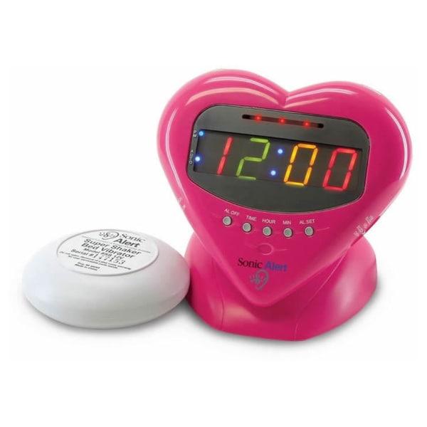 Sonic Alert Sweetheart Super Shaker Alarm Clock