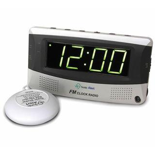 Sonic Alert Super Shaker FM Radio Alarm Clock