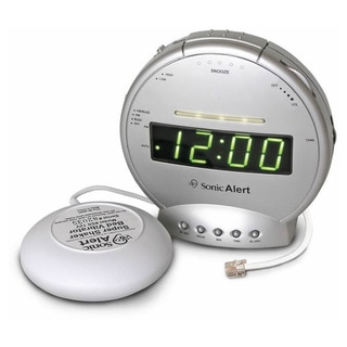 Sonic Alert Super Shaker Alarm Clock and Telephone Signaler