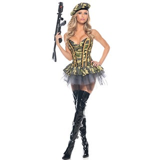 Sexy Commando 3-piece Costume