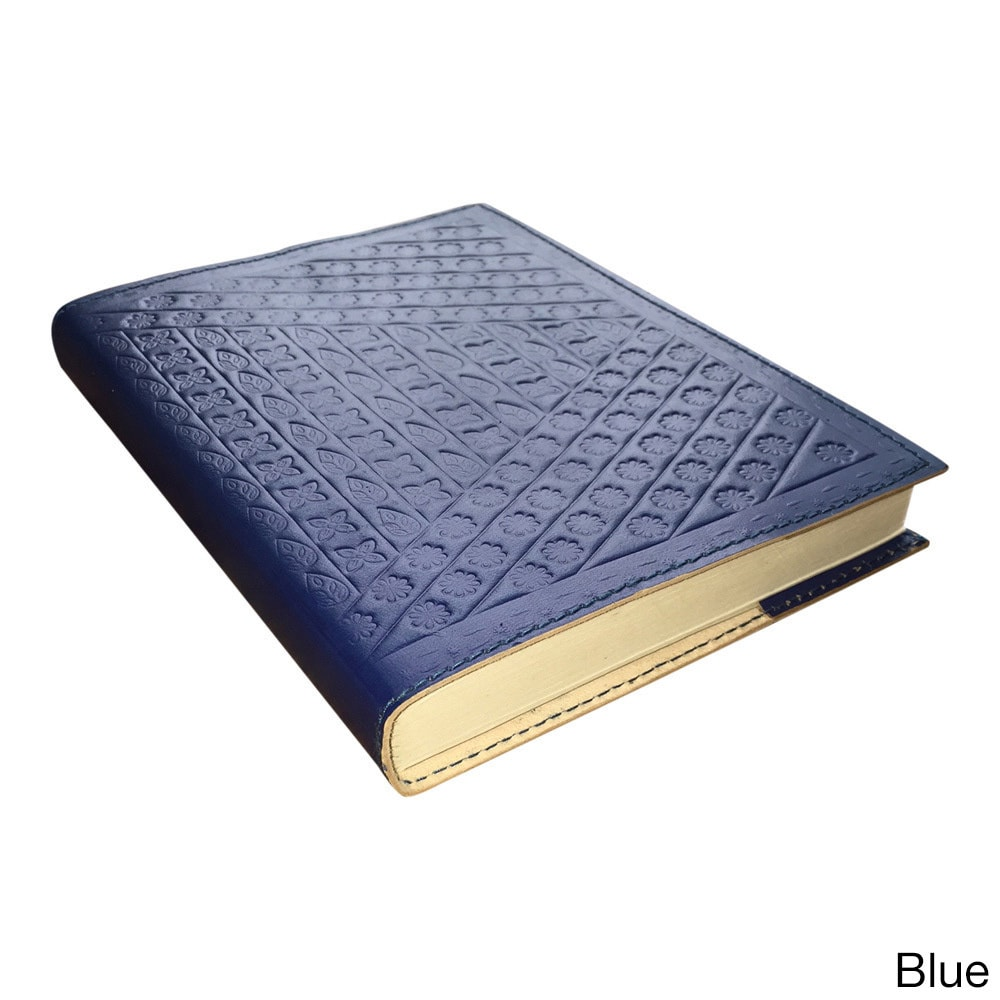 Sitara Collections Handmade 8-inch Embossed Leather Refil...
