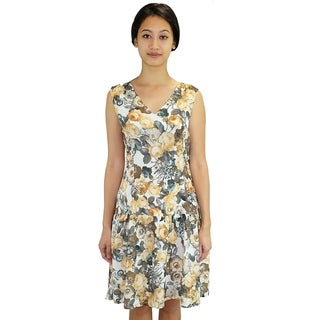 Relished Floral Flurries Dress