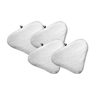 4pk Replacement Steam Mop Pads, Fits Bissell Select Hard Surface Cleaner 94E9T(A), Compatible with Part 76B2A