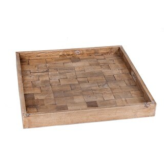 Gilbert Rustic Wooden Tray