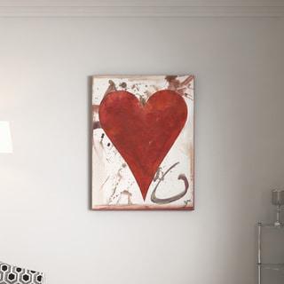 "Ready2HangArt Zane Heartwork ""Cameryn"" Canvas Art"