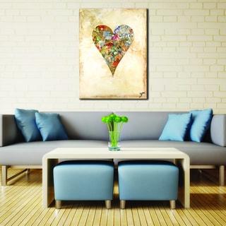 Ready2HangArt Zane Heartwork Bella Canvas Art
