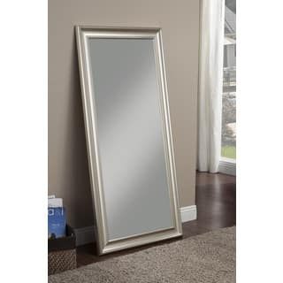 Sandberg Furniture Champagne Silver Finish Full Length Leaner Mirror|https://ak1.ostkcdn.com/images/products/10627144/P17696569.jpg?impolicy=medium
