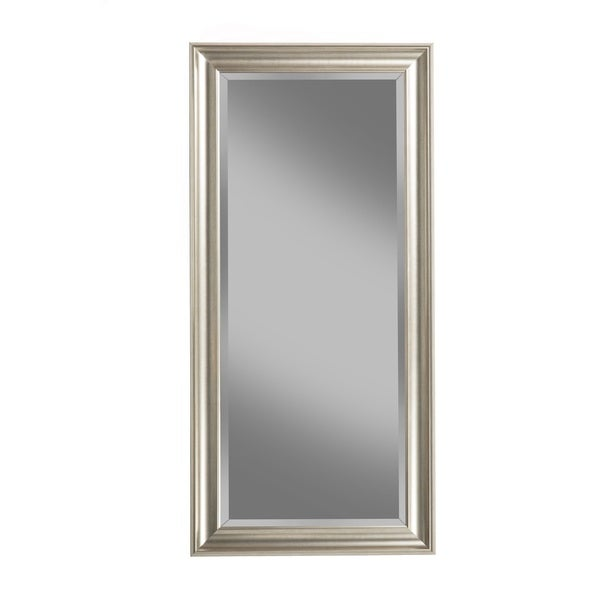 mirror finish furniture. sandberg furniture champagne silver finish full length leaner mirror free shipping today overstockcom 17696569 n