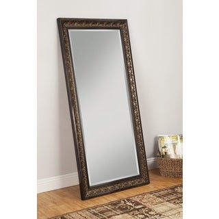 Sandberg Furniture Andorra Full Length Leaner Cognac Ash Finish Mirror