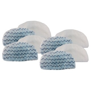 8pk Replacement Steam Mop Pads, Fits Bissell PowerFresh, Compatible with Part 5938 & 203-2633