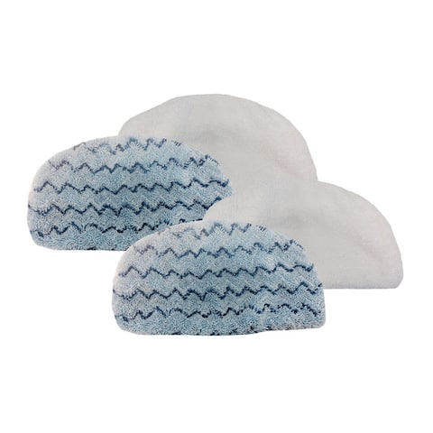 4pk Replacement Steam Mop Pads, Fits Bissell PowerFresh Steam Mop, Compatible with Part 5938 & 203-2633