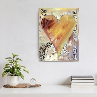 Ready2HangArt Zane Heartwork Fabienne Canvas Art