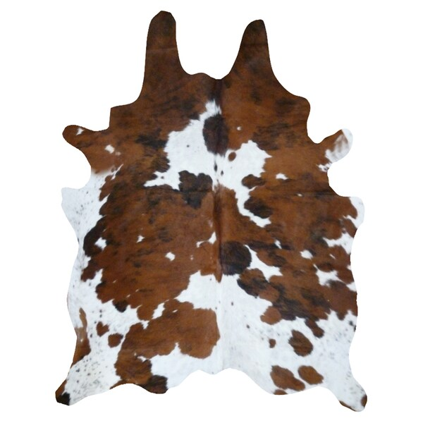 Cowhide Tricolor Rug