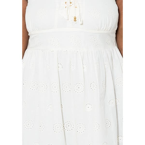 Shop Sealed with a Kiss Women\'s Plus Size \'Monica\' Eyelet ...